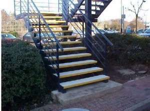 TreadSafe® ensures safe access for the disabled
