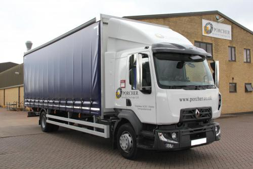 Porcher Delivery Lorry