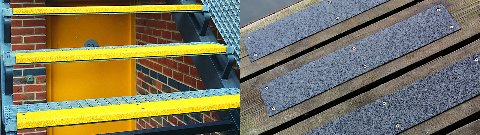 TreadSafe® Stainless Steel Treads